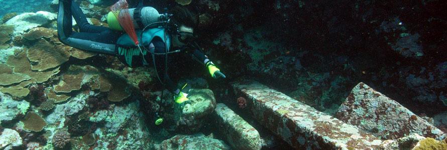 2009年9月 吉野海岸沖海底遺跡