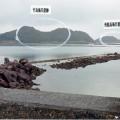 竹島、飛龍島海岸遺跡
