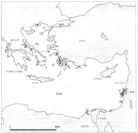 ギリシア・トルコ及び東地中海地域の水中遺跡