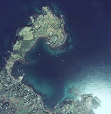 Arial View of Maekata Bay, Ojika Island