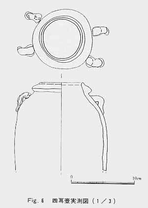 四耳壺実測図
