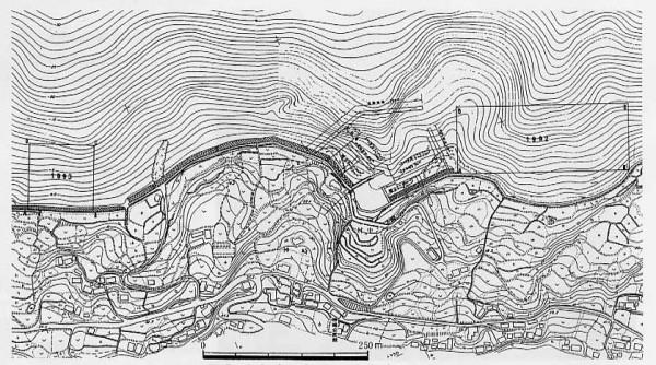 Fig.2 平成4年度及び5年度調査区域図