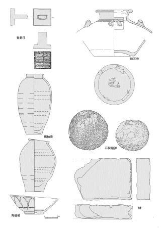 鷹島海底遺跡出土の遺物